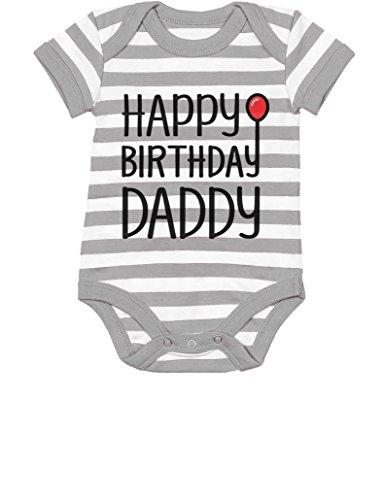 3d769fcde Bodysuits – TeeStars – Happy Birthday Daddy Cute Boy/Girl Infant Dad's Gift Baby  Bodysuit 6M Gray/White Offers